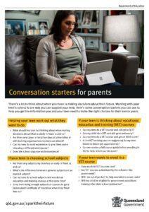 Conversation starters for parents