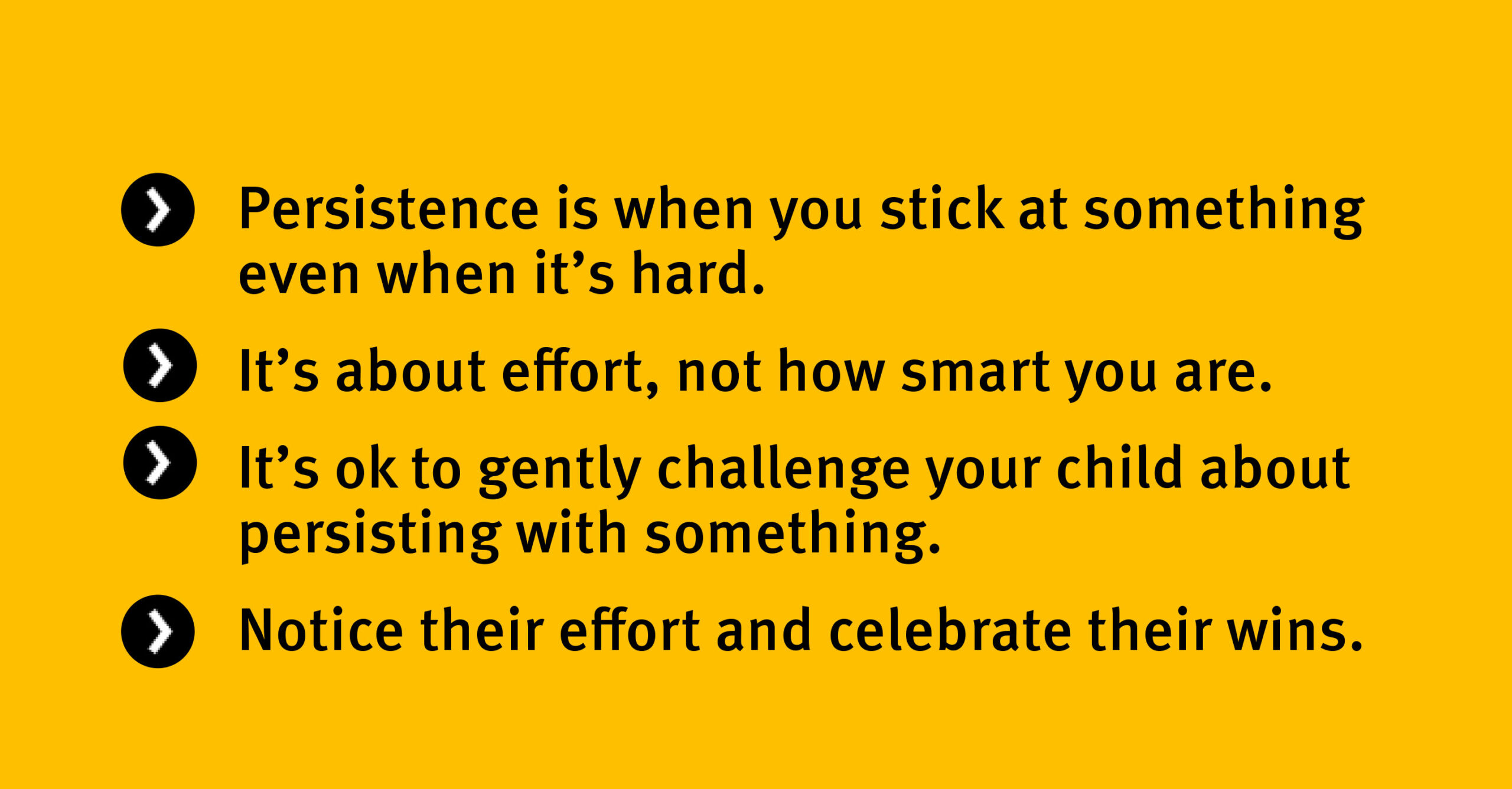 Key points Persistence