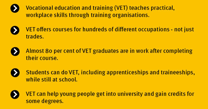 Key points VET