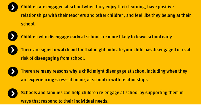 Key points - Disengaging primary