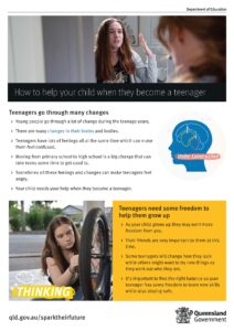 Image How to help your child when they become a teenager Spark their Future